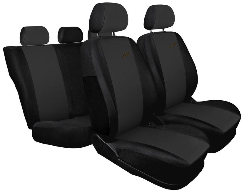 Pokrowce XR na fotele samochodowe - wersja ciemnoszara