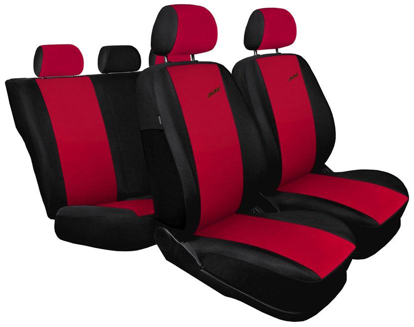 Pokrowce XR na fotele samochodowe - wersja czerwona