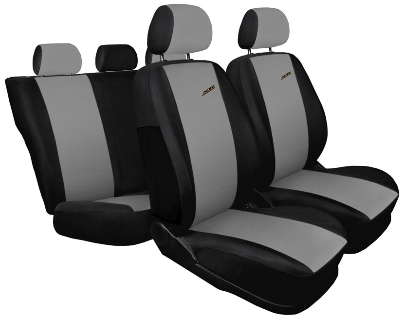 Pokrowce XR na fotele samochodowe - wersja jasnoszara