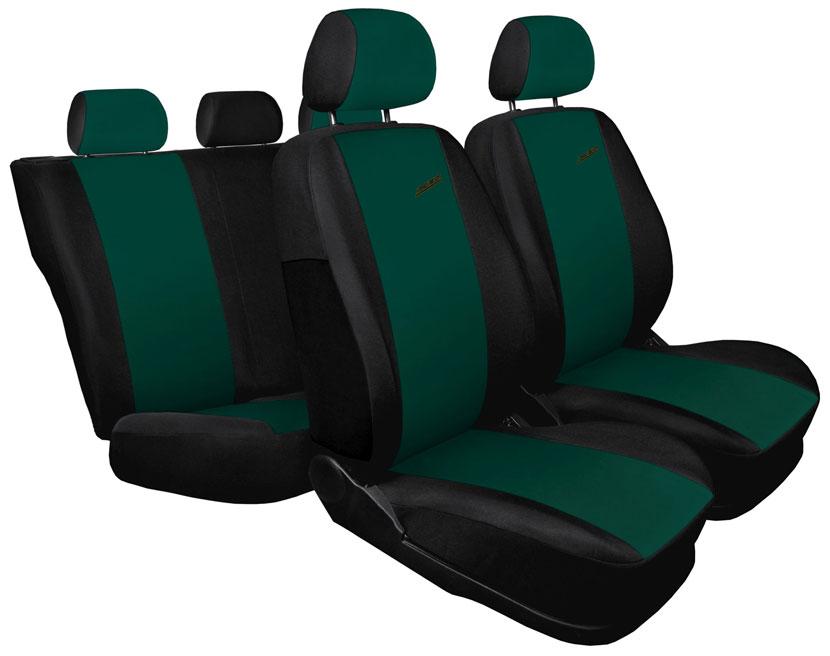 Pokrowce XR na fotele samochodowe - wersja zielona