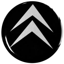 Emblematy na kołpaki CITROEN, silikonowe 3D (zamienniki)