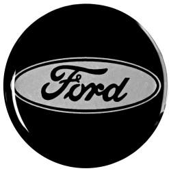 Emblematy na kołpaki FORD, silikonowe 3D (zamienniki)