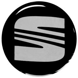 Emblematy na kołpaki SEAT, silikonowe 3D (zamienniki)