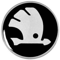 Emblematy na kołpaki SKODA, silikonowe 3D (zamienniki)