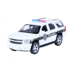 Autko kolekcjonerskie - MODEL 2008 CHEVROLET TAHOE, POLICE, BIAŁY