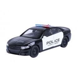 Autko kolekcjonerskie - MODEL 2016 DODGE CHARGER R/T, POLICE, CZARNY
