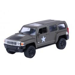 Autko kolekcjonerskie - MODEL HUMMER H3, US ARMY, KHAKI