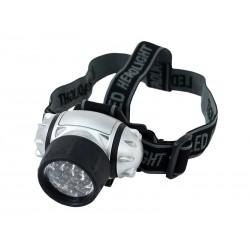 Latarka czołowa czołówka 14 LED (regulowany kąt)