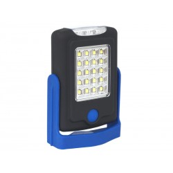 Lampka 20 SMD +3 LED z magnesem i haczykiem