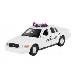 MODEL 1999 FORD CROWN VICTORIA POLICE BIAŁY