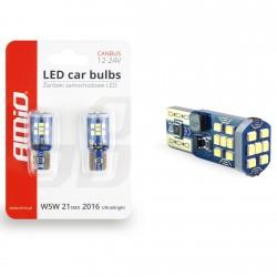 Żarówki LED UltraBright T10 W5W White 12V CANBUS