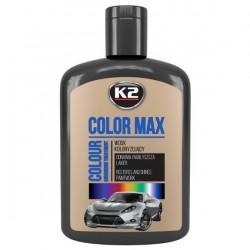Wosk koloryzujący K2 COLOR MAX 200 ML CZARNY